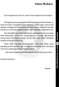 "Koran Momentum ""Metamorfosa"""